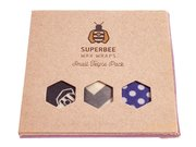 SUPERBEE WAX WRAPS - Bienenwachstücher - The Triple Pack...