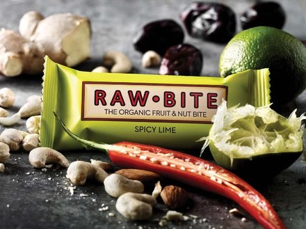 Raw Bite Spicy Lime - Rohkost Riegel