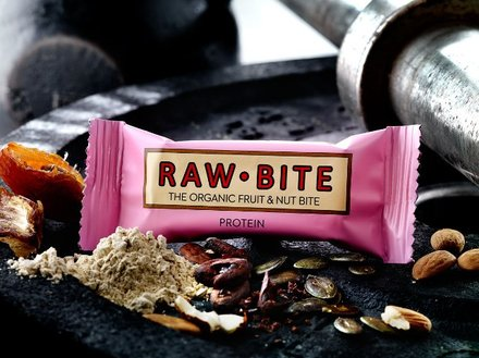 Raw Bite Protein - Rohkost Riegel Box
